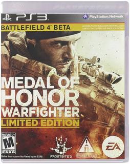 Medal Of Honor Warfighter Limited Nuevo Sellado Juegos Ps3