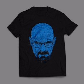 Camiseta Heisenberg Breaking Bad Walter White Masculina