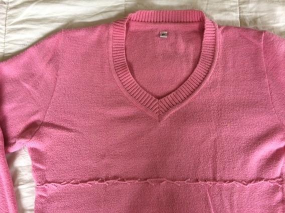 Blusa Casaco Sueter Cardigan Rosa Pink