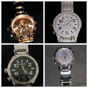 Vendo Relógios Nixon 51-30 Chrono Usados Rosé, Preto, Prata