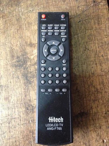 Control Remoto Genérico Nuevo Para Tv Lcd Hitech