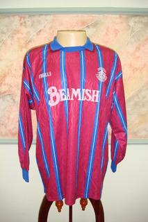 Camisa Futebol Cobh Ramblers Irlanda Antiga O