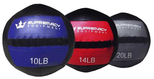 Balon Medicinal 2.0 Supremacy  20-lb  - Negro /gris