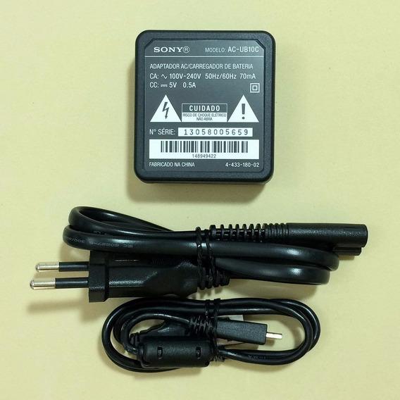 Kit Carregador Sony Original P/ Dsc Hx9v Dsc Wx7 Wx9