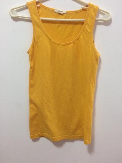 Remera Amarilla Básica