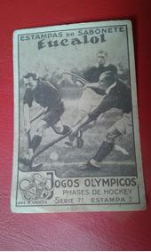 Estampas Do Sabonete Eucalol Jogos Olympicos Serie 71 N. 2
