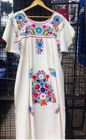 fda9e38454 Vestidos Bordados Mexicanos - Vestidos en Mercado Libre Argentina