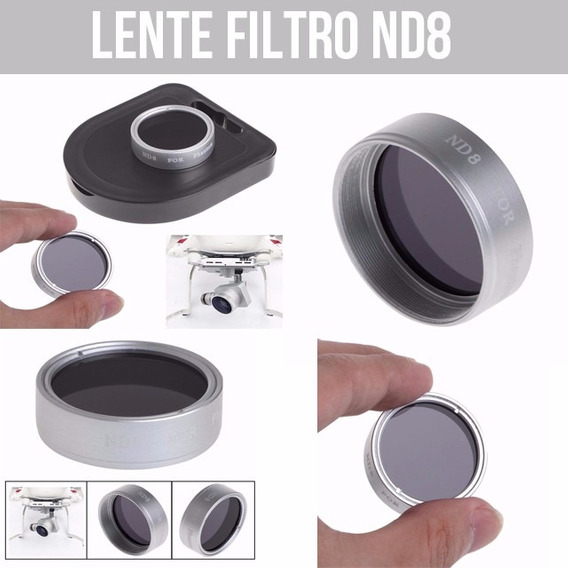 Lente Filtro Nd8 Rosqueável Phantom 3 4 Promoção