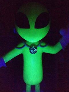 Grey Alien Fotoluminiscente