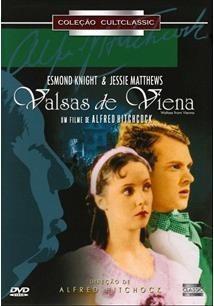 Dvd Valsas De Viena - Alfred Hitchock - Original Lacrado