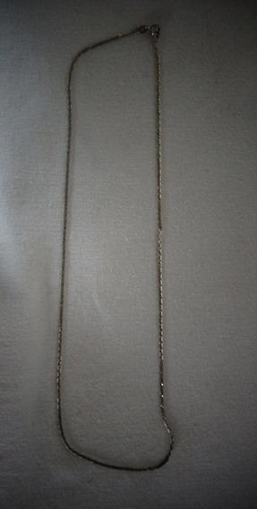 Cordão Prata De Lei 3,3 Gramas N°19