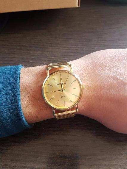Relógio Masculino Quartzo De Luxo Geneva