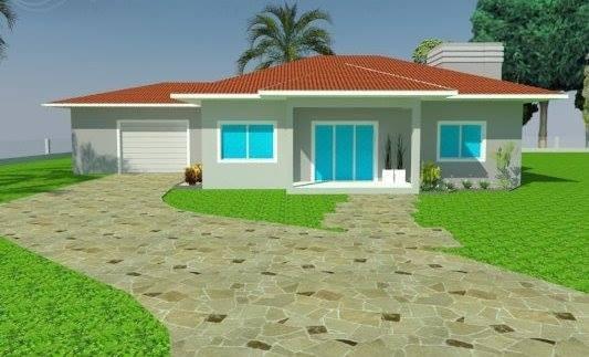 Projetos Arquitetônicos, Fachada Maquete 3d