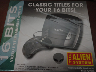 Video Juego Consola Sega Allien 16 Bits