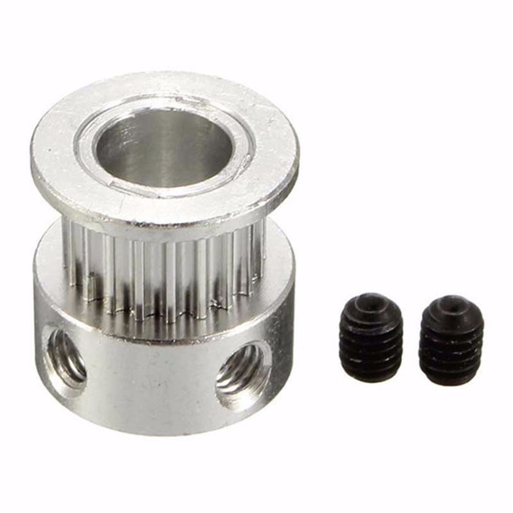 2x Polea Gt2 De 20 Dientes Diamet Int. 5mm Impresoras 3d Cnc