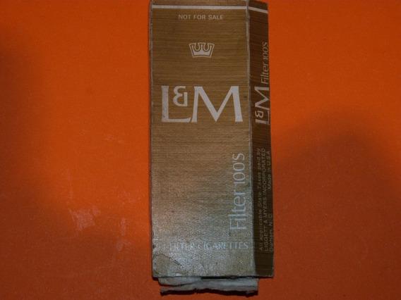 Caja De Cigarrillos L&m