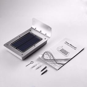 Luminária Solar 16 Leds Com Sensor Movimento Pront Entrega