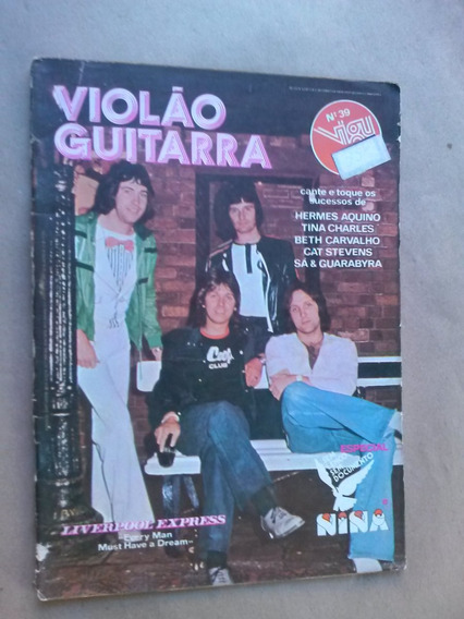 Revista - Violão & Guitarra 39 - Liverpool Express