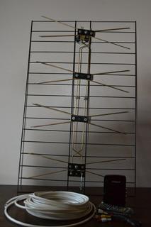 Combo Tda Sintonizador Decodificador Tv Digita+antena+cable