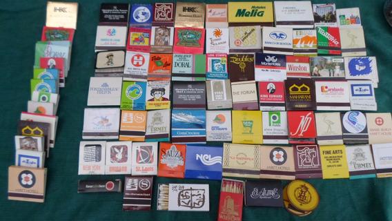 Coleccion De Fosforos Carterita Y Cajita De Brasil Usa Urugu