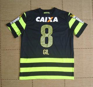 Camisa Original Jogo Coritiba 2013/2014 Third #8 Gil