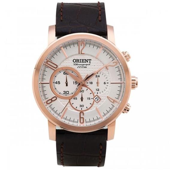 Relógio Orient Mrscc008 Masculino Luxuoso Elegante Lindo