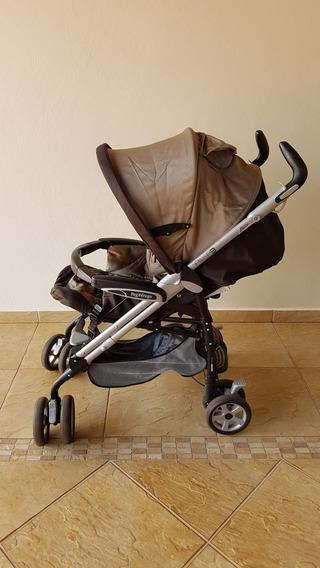 Carrinho Peg Pérego Pliko P3 Compact Capuccino Bebê Conforto