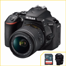 Câmera Nikon D5600 Kit 18-55mm 2 Anos De Garantia