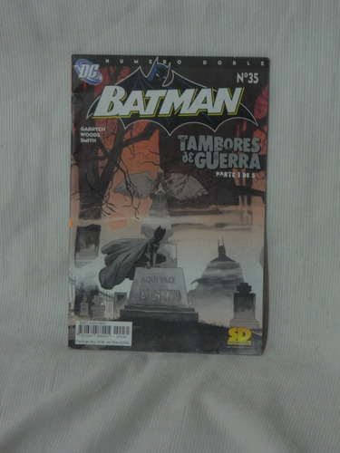 Imagen 1 de 1 de Batman N°35. Tambores De Guerra