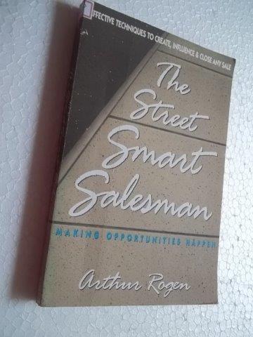 * The Street Smart Salesmam - Arthur Rogem - Livro
