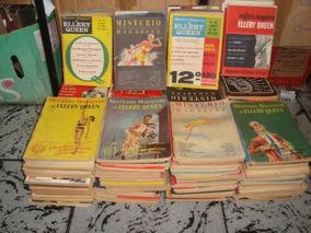 Coleção Livros Mistério Magazine Ellery Queen Anos 1950 E...