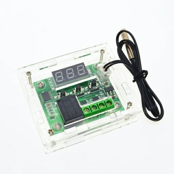 Case Capa Caixa Acrilico Proteção Termostato Digital W1209