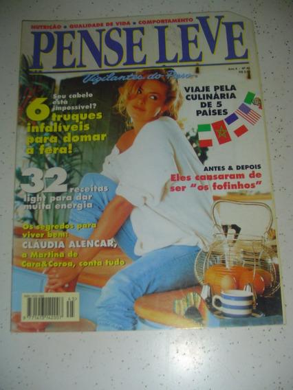 Revista Pense Leve 45 Claudia Alencar Ervas 1996