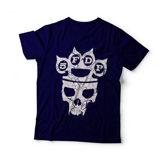 Camisa Blusa Masculina Rock Five Finger Death Punch