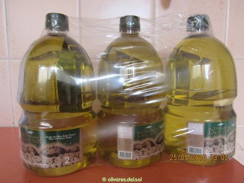 Aceite De Oliva Olivares Del Sol 2l No Trabajomercado Envios