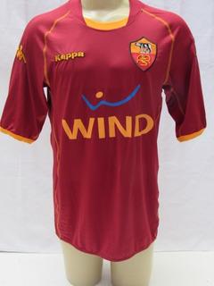 Camisa De Futebol Do Roma Da Italia 2008/09 Wind Kappa Sc16