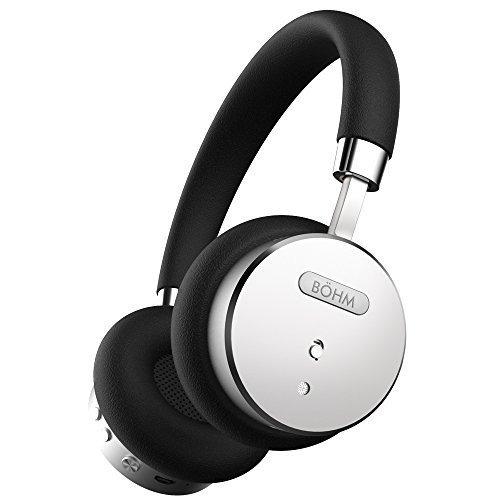 Audifonos Böhm Bluetooth Wireless Noise Cancel Plata