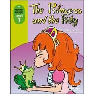 The Princess And The Frog. Mm Primary Readers Level 1 W/cd-r