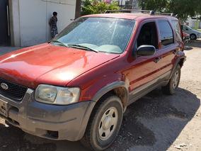 Ford Escape 4x4 Xls Mod.2003 Dada De Baja C/ Alta De Motor