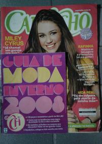 Revista Capricho Miley Cyrus