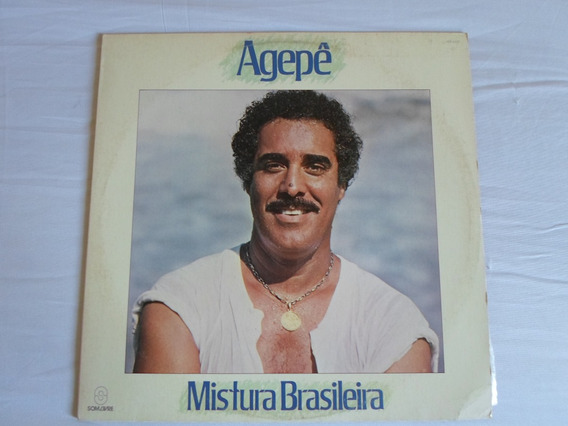 Lp - Agepê - Mistura Brasileira (1984) - Nunca Tocado!