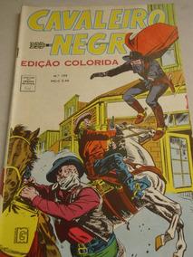 Cavaleiro Negro Nº 199 De 1969 Cores Faroeste E Cowboys Rge