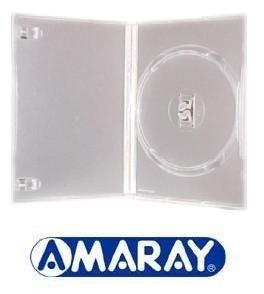 Capa Para Dvd Amaray Estojo Transparente 100 Unidades