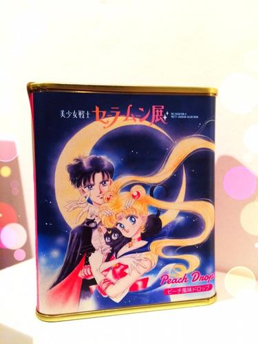 Sailor Moon Lata De Caramelos Oficiales De Japón