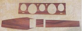 Acabamento Em Madeira Do Painel E Console Dodge-dart-charger