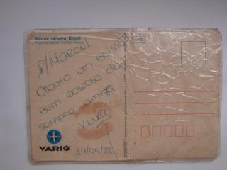 Cartao Autografado 1982 Xuxa