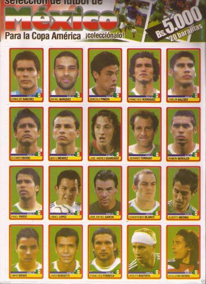 Figurinhas Extras México Originais Copa América 2007 Panini