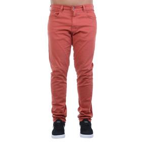 Calça Masculina Billabong Passeio Pocket Vermelho