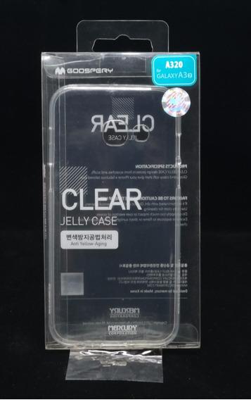 Funda Galaxy A3 2017 Mercury Goospery Clear Jelly Case