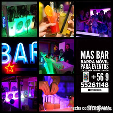 Servicio De Bar A Domicilio Y Barras Móviles... Mas Bar